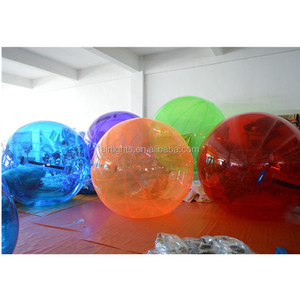 2019 China pop inflatable water toy balls human sized water zorb ball inflatable aqua sphere
