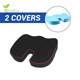 Outdoor Stadium Car And Bus Driver Seat Cushion Wheelchair Non-slip Bottom Coccyx Orthopedic Memory Foam Seat Cushion