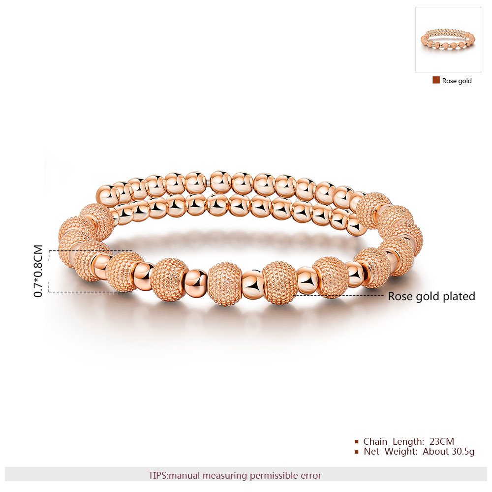 George Smith Fashion bangles Elegant Sand Beads Women Bracelet 18K Gold Plating Jewelry wholesale bracelet