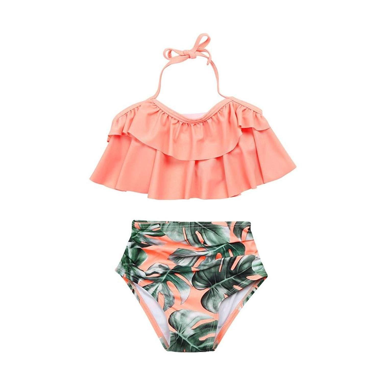 07c80f9f6 Little Girl Swimsuit Swimwear Bathing Suit Bikini Set Clothes Outfit