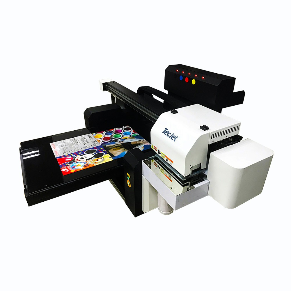 Sticker label small flatbed sky color eco solvent skin ps4 console tag printer