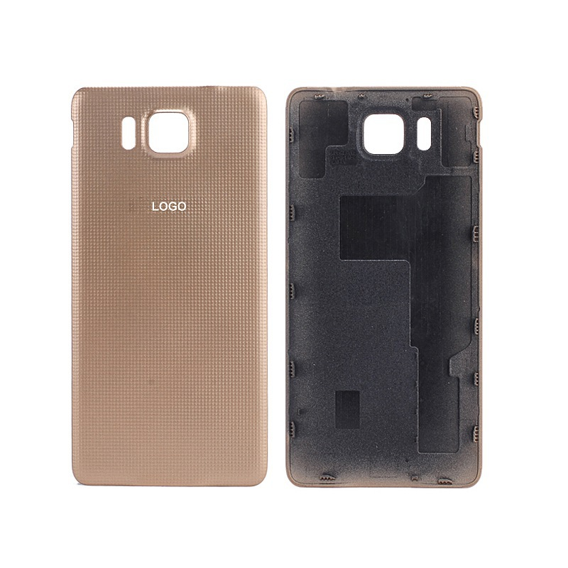 a0a13ae8b6bd For Alpha G850 G850F Luxury Housing Battery Case Replacement Door Case Back  Cover for Samsung