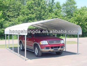 china low cost 12ft wide metal carport supplier
