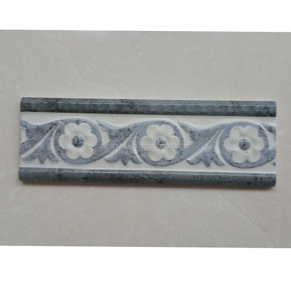 ceramic decorative skirting rustic Listello border tiles