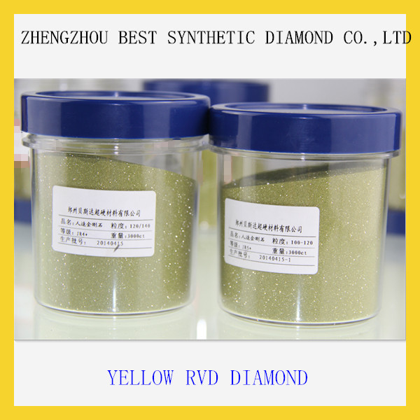 China factory supply Good and Hard Industrial Synthetic RVD Diamond Powder For Abrasive