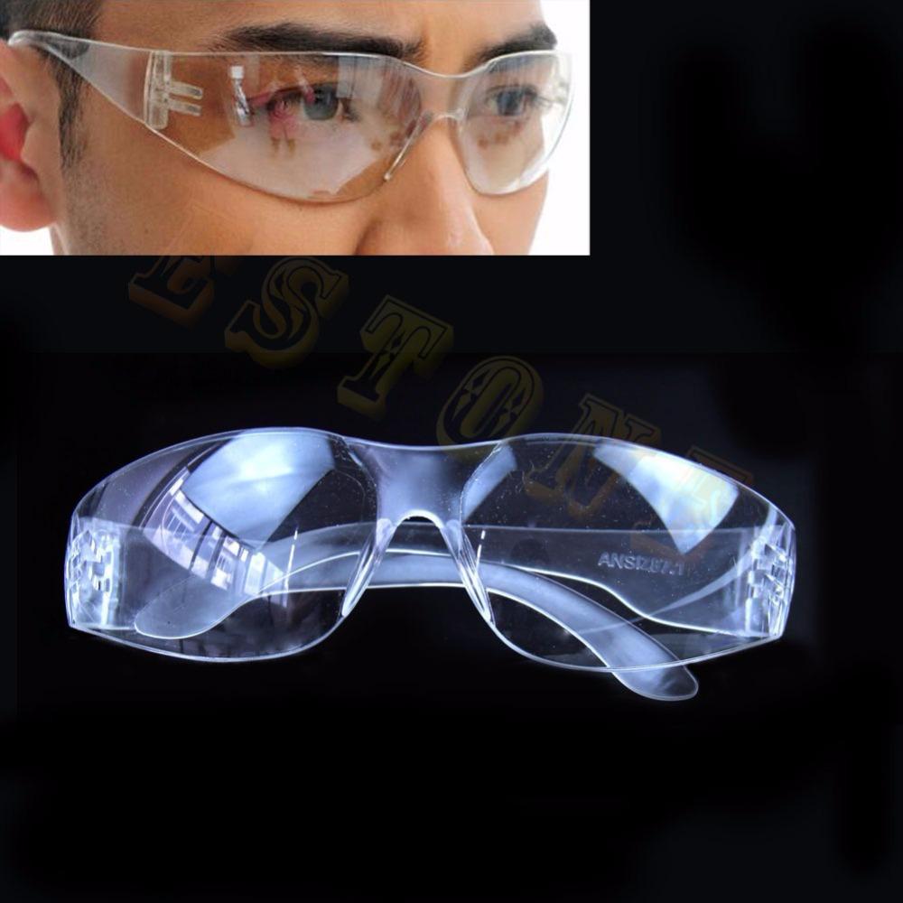 1 шт. ясно очки прозрачные очки химической лаборатории анти-излучения