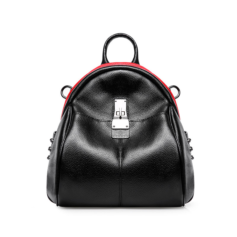 2018 New Arrival Factory Directly Sale Cheap Price Bag Genuine Leather Woman <strong>Backpack</strong>