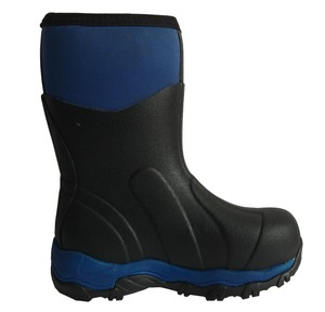 customize thermal hunting rubber neoprene lined rain boots