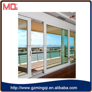 PVC profile Japan plastic window with heat insulation/home windows