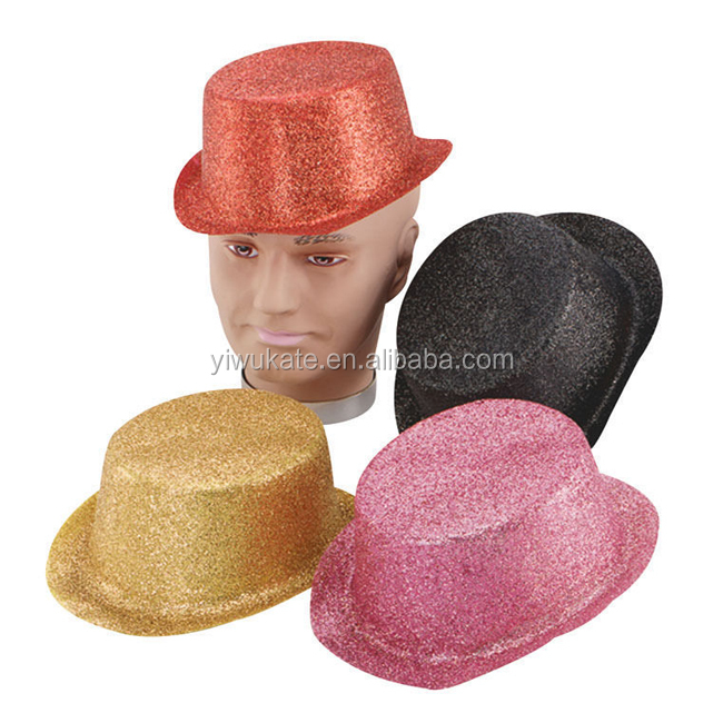 Tinsel Gangster Trilby Hat Fancy Dress Hen Night Stag Various Colours KO372 cda048d53040