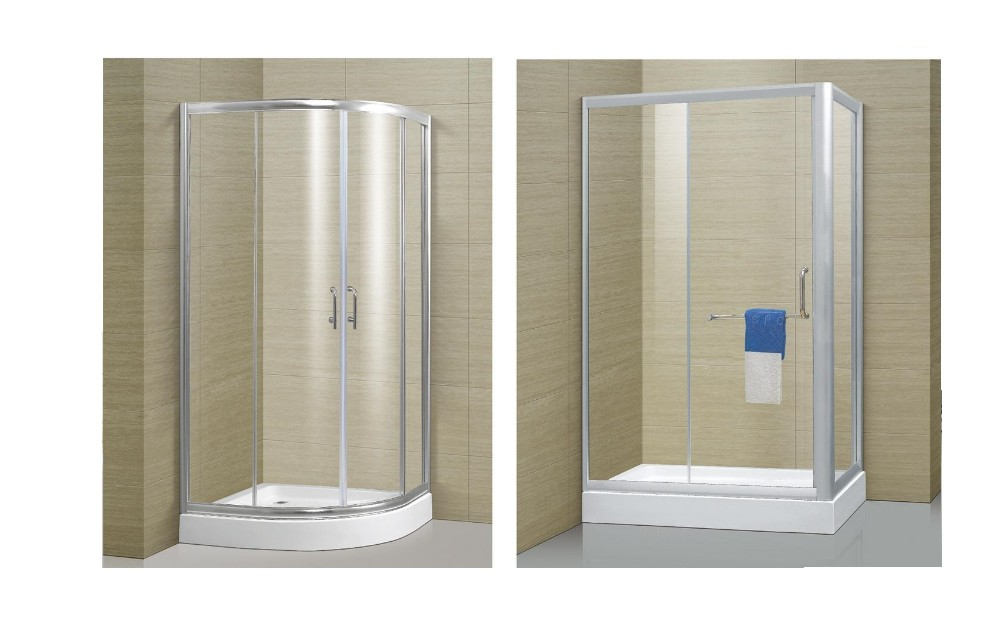 6mm 8mm 10mm Clear Tinted Tempered Laminated Raindrop Glass Shower