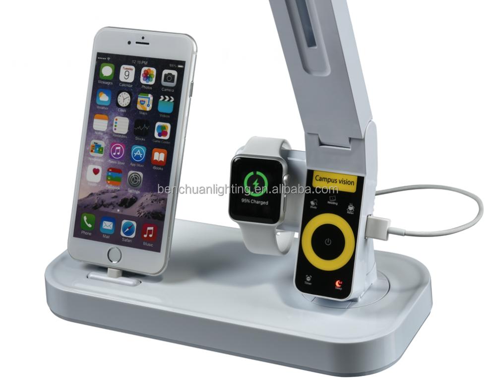 lampade a led wireless nuovi trend : ... stepless dimming LED lampada da tavolo con porta USB e timer 1 ora