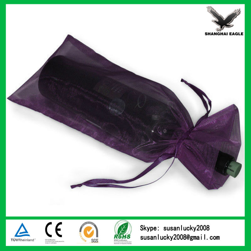 Medium Organza Pouch Christmas Snowflake Wedding Favour Gift Tie Bag (directly from factory)