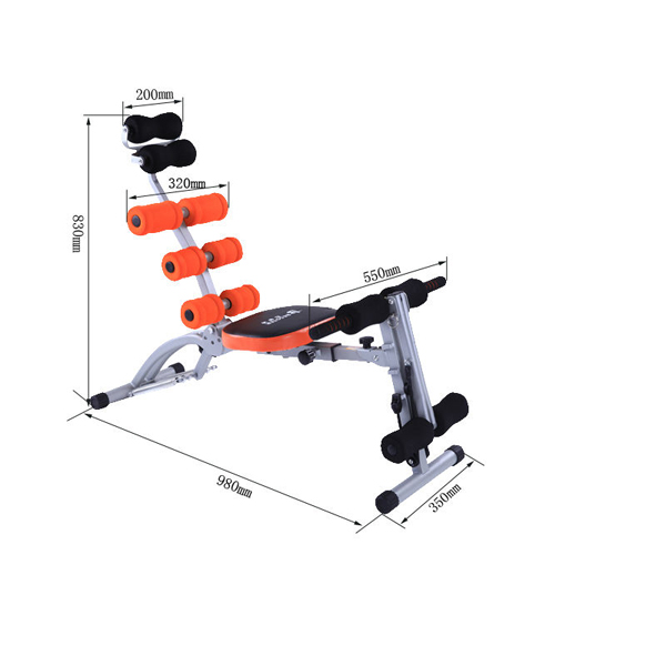 Js-060sa Hot Core Trainer Home Sport Equipment New Ab Fitness Gym ...