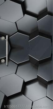 Turkarslan 23 Ca Tempered Glass Surfaced Steel Door Buy