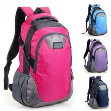 New Men's School Backpack Fashion Travel Hiking Bag Outdoor Satchel Bags