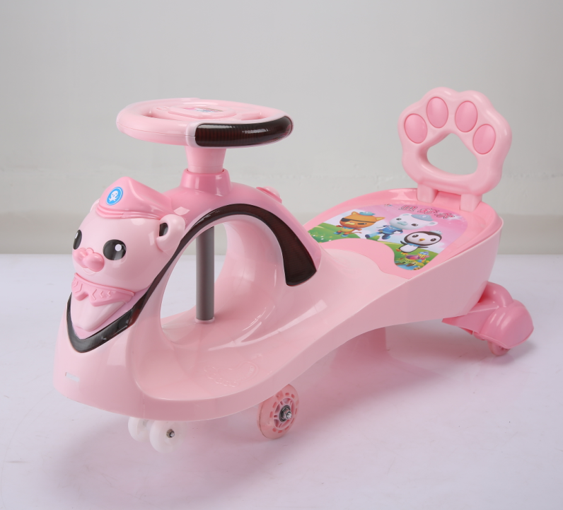 High Quality Baby Swing Car kids wiggle car baby twist car for Christmas gift