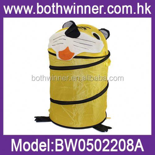 Laundry Hamper Trolley,H0t010 Easy Folding Oval Shape Household ...
