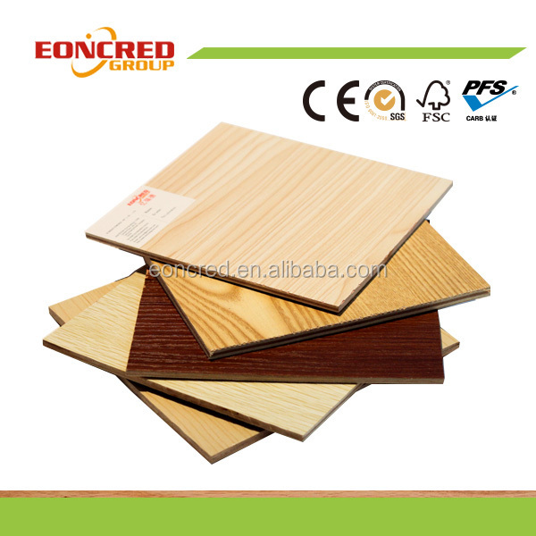 High gloss Wood Grain UV MDF Panel/UV Coated Board /Wood Grain Melamine Parper Laminated