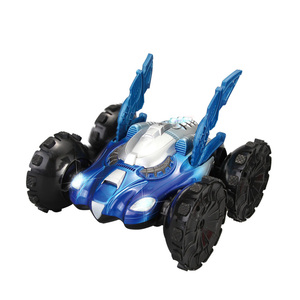 RC Toys Amphibious Stunt Remote Control Car With Light