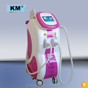 multifunctional cosmetic light emitting diode machine 3 in 1 IPL+Elight+808 diode laser