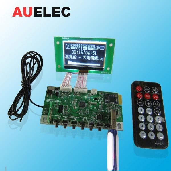 Auelec Wireless Bluetooth Usb Fm Speaker Circuit Board