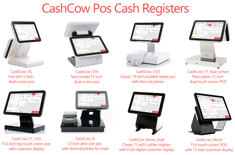 Newest model Android OEM pos register all in one