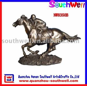 antique brass life size collectible horse statues for sale