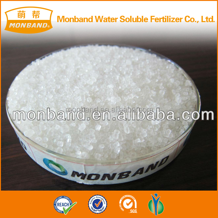 raw material white ammonium sulphate crystal