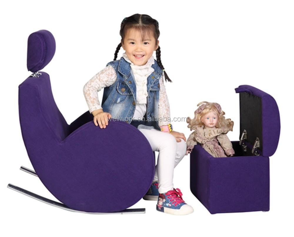 Workwell ni os mecedora sof ni os silla mecedora sof perezoso sof para ni os identificaci n - Sofa mecedora ...