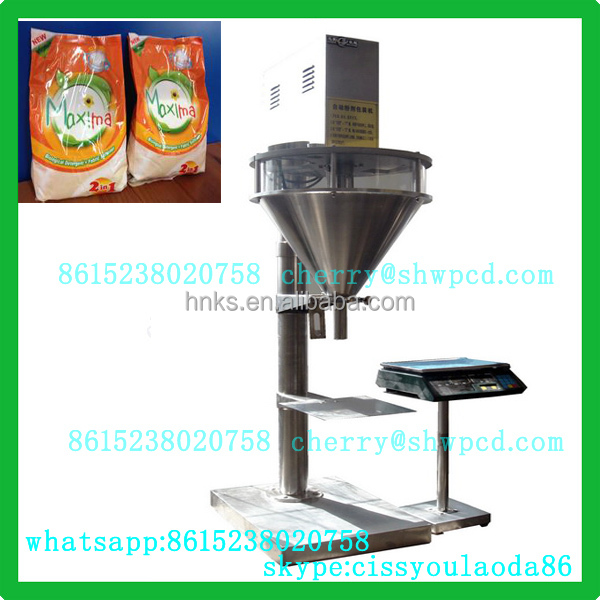 Automatic coffee powder dust removed packing machine with screw elevator line for coffee powder,milk filling and packing machine