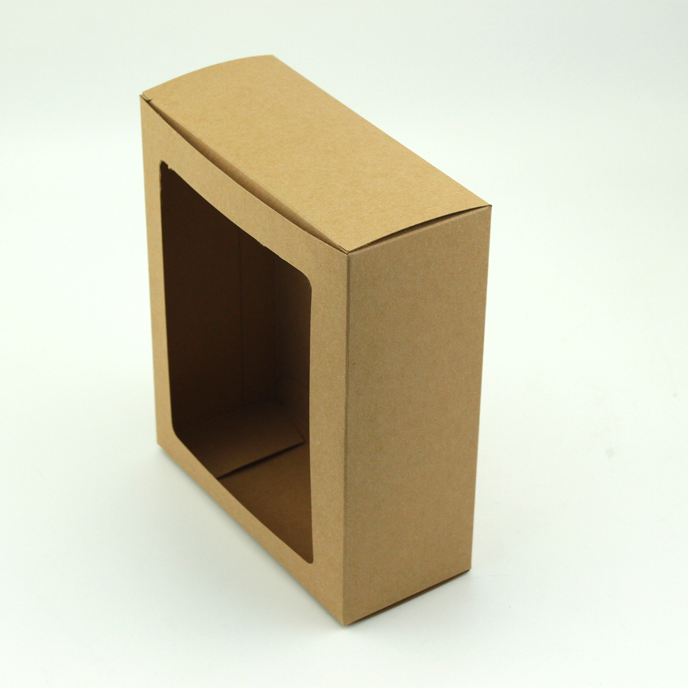 FSC SGS Tealight Candle Natural Kraft Box,Craft Paper Box,Brown Box