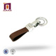 Best Price pearl nickel plated zinc alloy PU retractable key ring