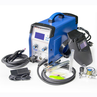 Portable high frequency inverter arc welding machine