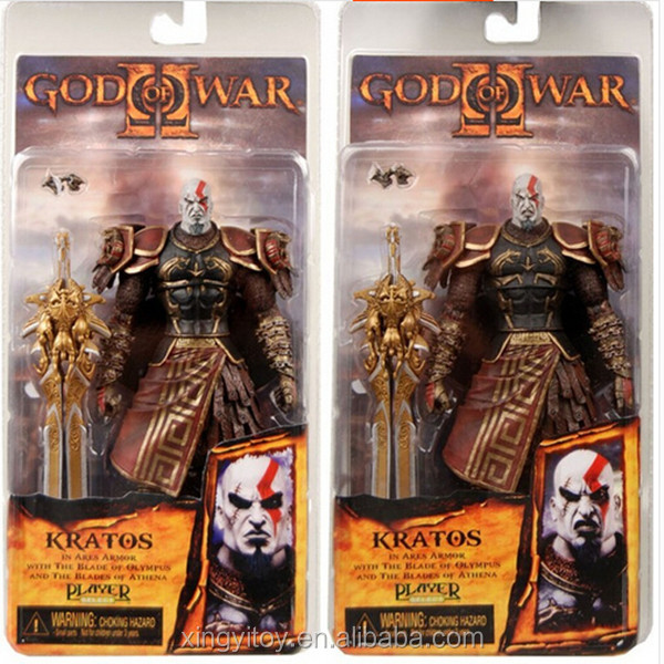 Neca God Of War 2 Ii Kratos In Ares Armor W/blades(mouth Opend) 7