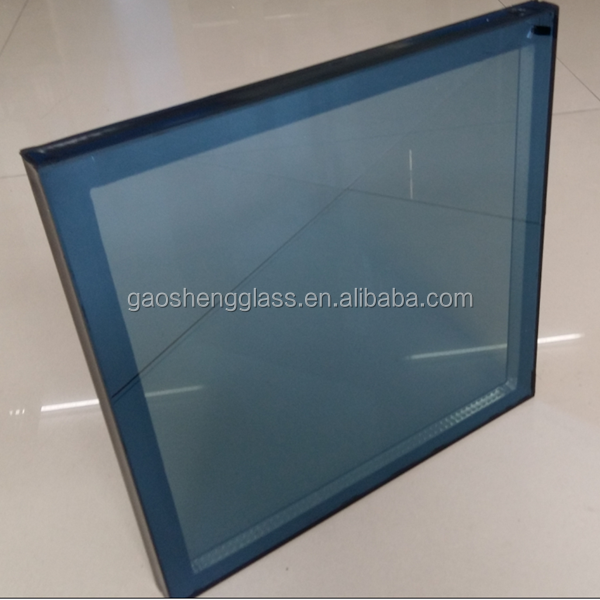 Space glass with air, argon, insulated glass unit for buildings
