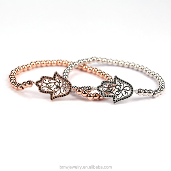 Famous Brand Anil Arjandas Men Bracelet Micro Pave Cz Charm Bracelets