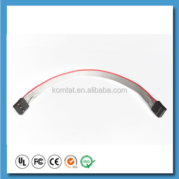 dupont 0 1 pitch grey 10 pin flat connector wire harness ribbon dupont 0 1 quot pitch grey 10 pin flat connector wire harness ribbon cable