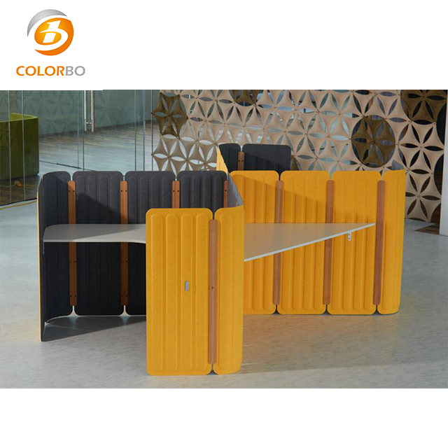 New <strong>Design</strong> And Material Recycle Eco-friendly Fireproof 3D Polyester Fiber Screen Product PET-WS-116450