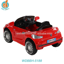 2015 new model Kids Two Speed B/O Ride on Car Toy for Drive battery led lights WDBBH5188