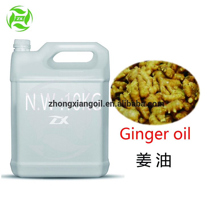 100% Organic Ginger oil for food flavor