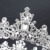 Baroque gold wedding crystal crown full round  bridal tiaras and crown
