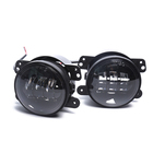 "Loyo Auto Car Drl 4inch 4 Inch 4"" 12v 30w Projector Round Led Driving Fog Light for Jeep Wrangler Jk Jl Offroad"