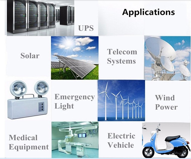 Wholesale agm battery storage inquire now solar and wind power system-2