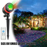 RGB star projection lights led snowflake projector outdoor laser christmas light projector