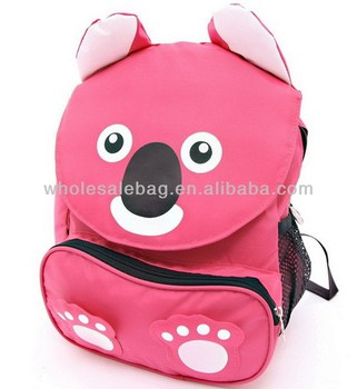 49a2469f3029 Cute Little Bear Backpack Bag for Yong Girl Lovely Bear 2014 3D School Bag  for Little