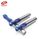 Blue NACO Coating Round Nose End Mill Endmill for Metal
