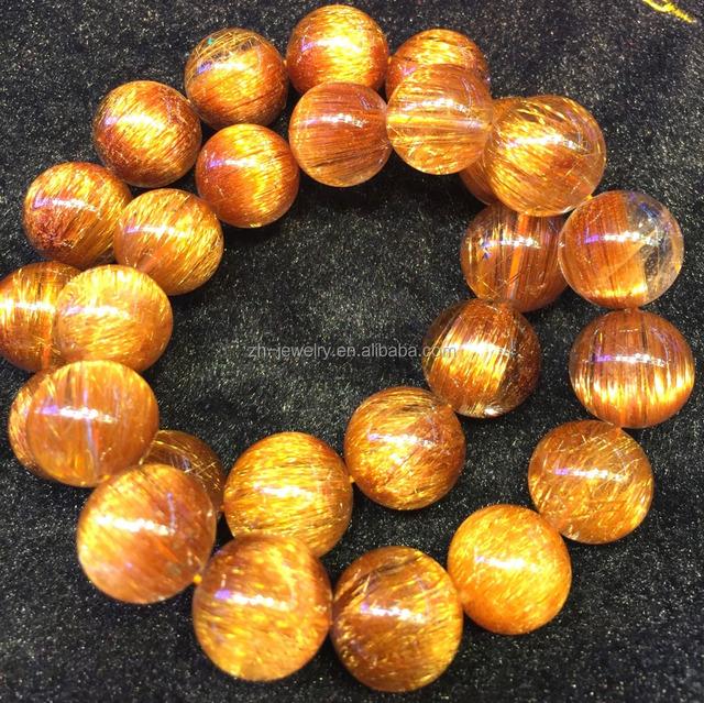 Copper rutile Gemstone Top quality handmade Copper Rutile Loose Gemstone 56Cts. mm Natural Copper Rutile Quartz Cabochons 43X29