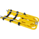 Hospital medical ambulance folding plastic scoop stretcher