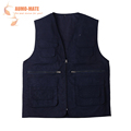 Fly Fishing Vest Outdoor Sleeveless Jackets Cotton Waistcoat With Mulit pocket Clothes Fit For Sea Fishing